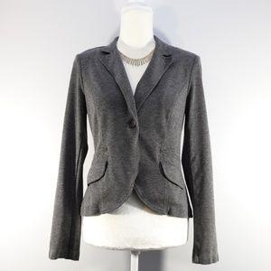 CAbi Gray Sweater Blazer - size 4